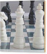 Chess Wood Print
