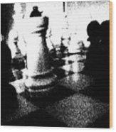 Chess5 Wood Print