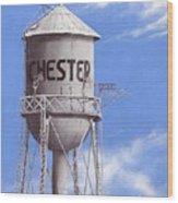 Chester Water Tower Ne Wood Print
