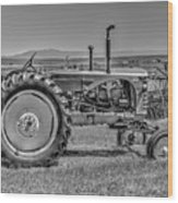 Chesterfield Tractor Wood Print