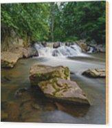 Chestnut Creek Falls  Wood Print