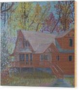 Chestnut Hills Wood Print