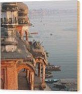 Chet Singh Fort Wood Print
