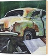 Chev At Rest Wood Print