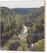 Chevelon Canyon Wood Print