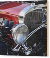Chevrolet 1932 Deluxe Coupe Wood Print