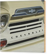 Chevrolet Apache 31 Fleetline Front End Wood Print