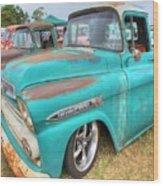 Chevrolet Apache Wood Print