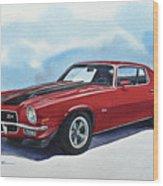Chevrolet Camaro Z28 Wood Print