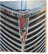Chevrolet Chrome Wood Print