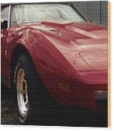 Chevrolet Corvette 1977 Wood Print