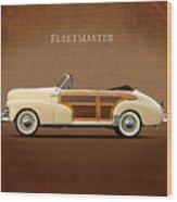 Chevrolet Fleetmaster 1947 Wood Print