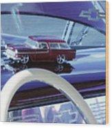 Chevrolet Nomad Toy Car Wood Print