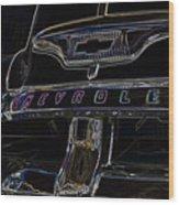 Chevrolet 2 Wood Print