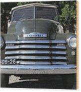 Chevrolet Thriftmaster Wood Print