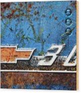 Chevy 3.0 Photomontage Wood Print
