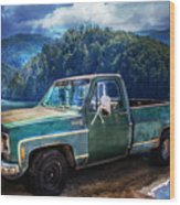 Chevy Bonanza Wood Print