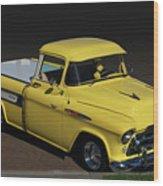 Chevy Cameo  Wood Print