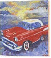 Chevy Dreams Wood Print