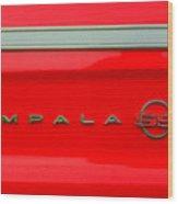 Chevy Impala Ss 237 Wood Print