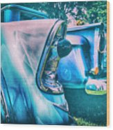 Chevy Lights Wood Print