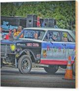 Chevy Nova Ss 359 Ci Wood Print