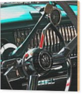 Chevy Powerglide Wood Print