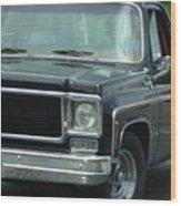 Chevy Vintage Truck Wood Print
