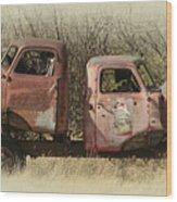 Chevy Vs Chevy Wood Print