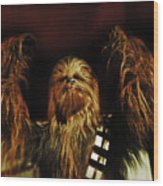 Chewie Wood Print