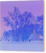 Cheyenne Dawn Wood Print