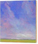 Cheyenne Spring Wood Print