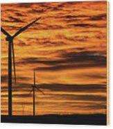 Cheyenne Sunrise Wood Print