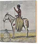Cheyenne Warrior, 1845 Wood Print