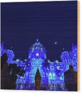Chhatrapati Shivaji Terminus  Formerly Victoria Terminus In Mumbai-2 Wood Print