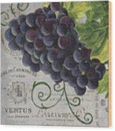 Vins De Champagne 2 Wood Print