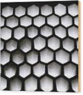 Chiaroscuro Geometry Wood Print