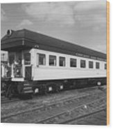 Chicago And North Western Business Car 1 Wood Print