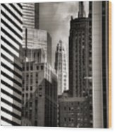Chicago Architecture - 13 Wood Print