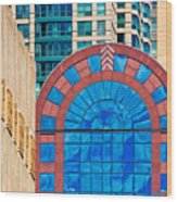 Chicago Place On N. Michigan Ave Wood Print