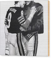 Chicago Bears Quarterbacks Wood Print
