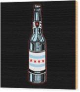 Chicago Beer Wood Print