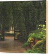 Chicago Botanical Gardens Wood Print
