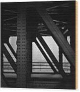 Chicago Bridge Wood Print