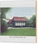 Chicago - Japanese Tea Houses - Jackson Park - 1912 Wood Print