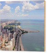 Chicago Lake Wood Print