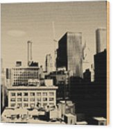 Chicago Loop Skyline Wood Print