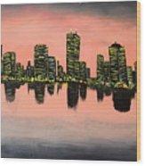 Chicago Wood Print