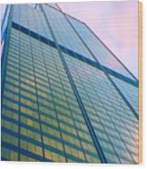 Chicago Sears Willis Tower Pop Art Wood Print