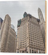 Chicago Towers Wood Print